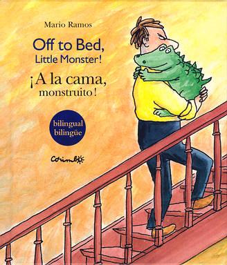 ¡A la cama, monstruito!