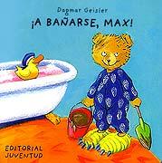 ¡A bañarse, Max!