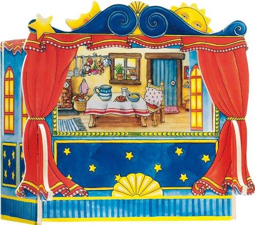 Teatro para marionetas de dedos