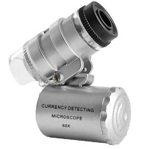Mini microscopio LED
